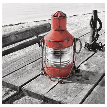Lantern Printed Canvas