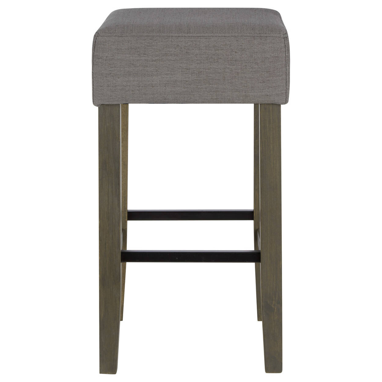 tabouret de bar en tissu et en bois. Black Bedroom Furniture Sets. Home Design Ideas