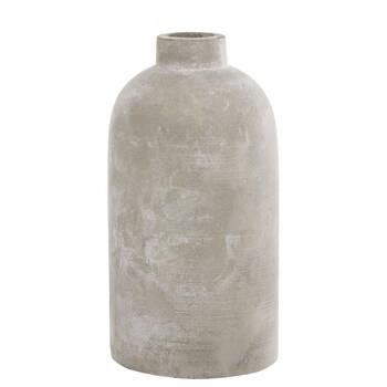 Cement Bottle Table Vase