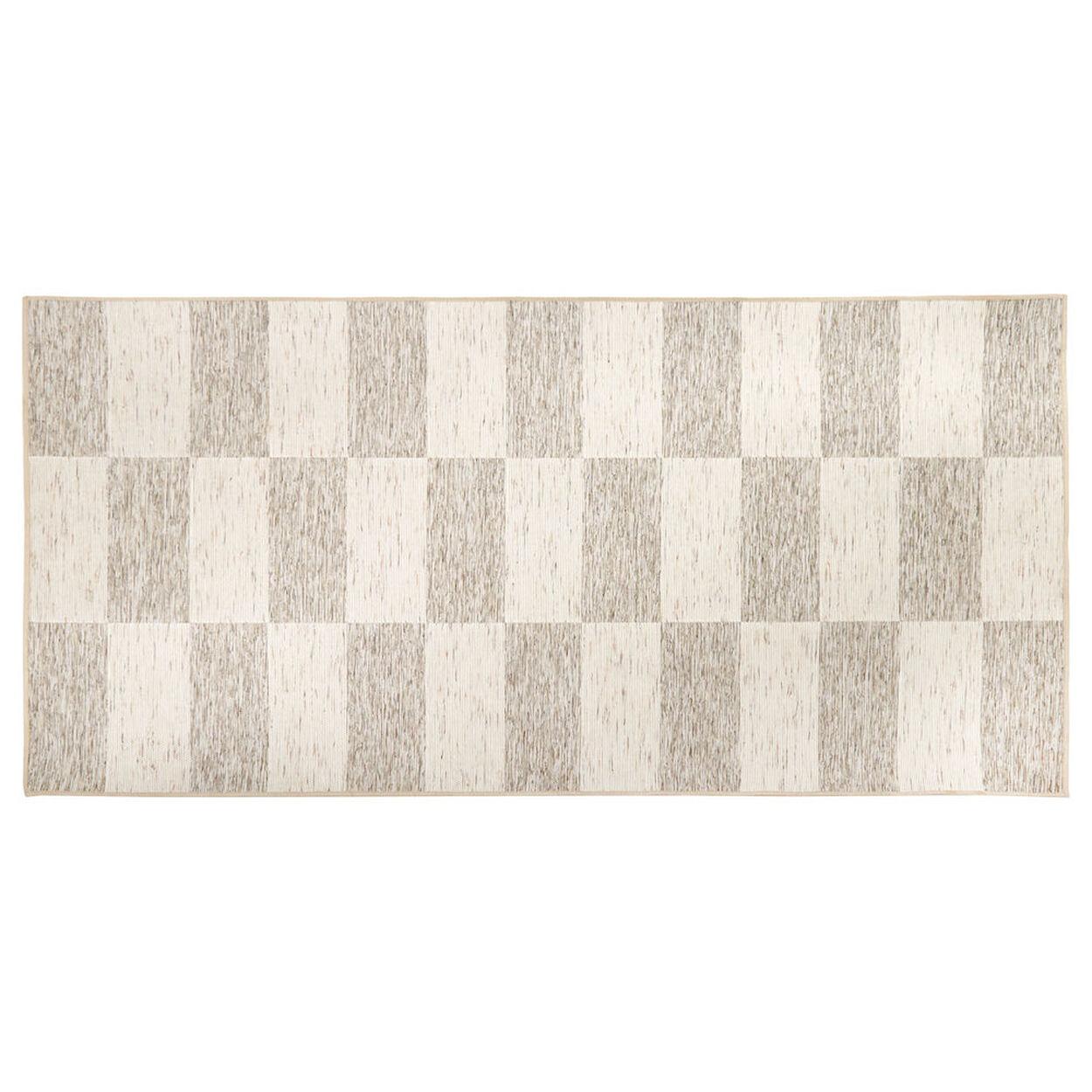Jaco Natural Look Checkered Rug