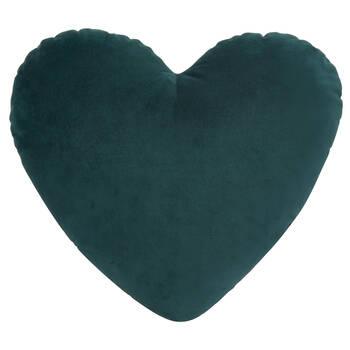 "Love Heart Shaped Decorative Pillow 15"" x 17"""