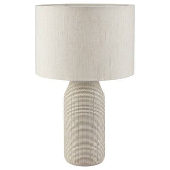 Patterned Ceramic Table Lamp