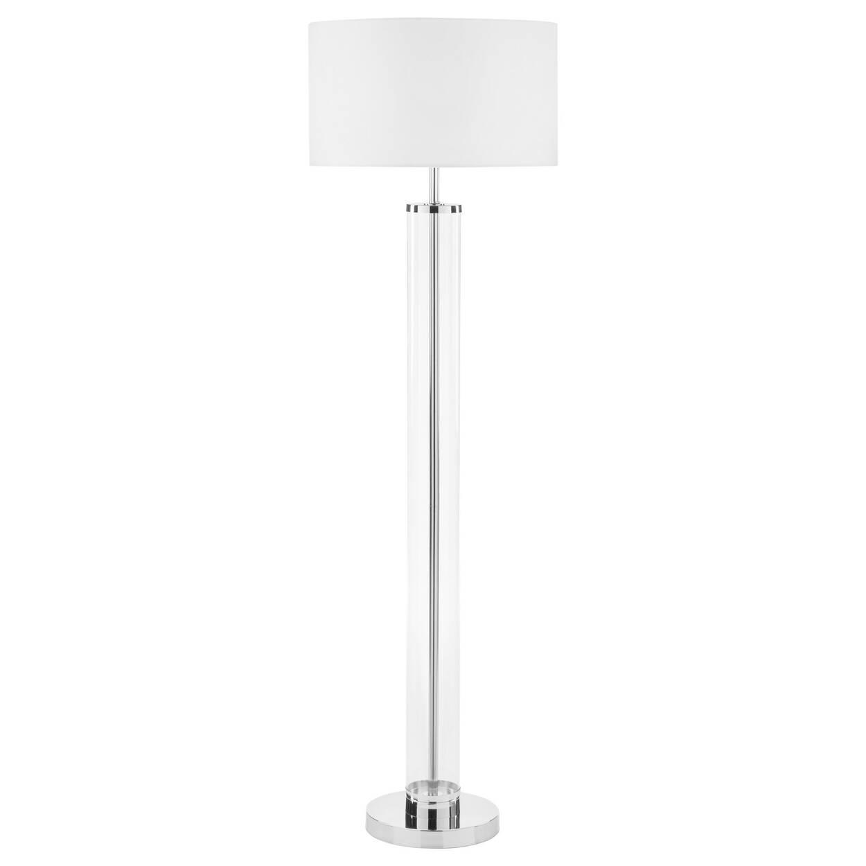 Acrylic and metal floor lamp bouclair acrylic and metal floor lamp mozeypictures Gallery
