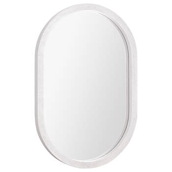 Framed Oval Mirror