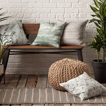 "Basha Decorative Pillow Cover 18"" x 18"""