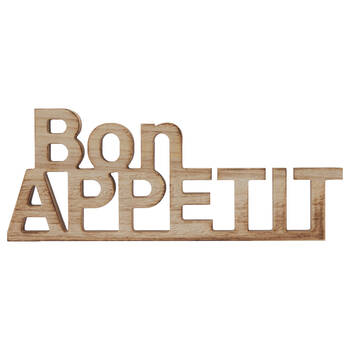 Decorative Words Bon Appetit