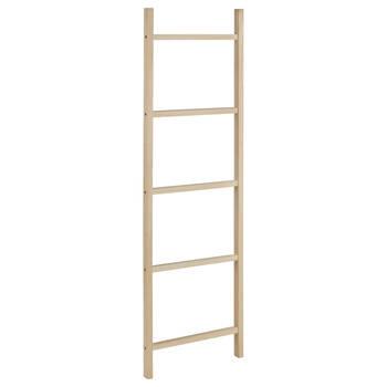 Natural Wood Towel Ladder