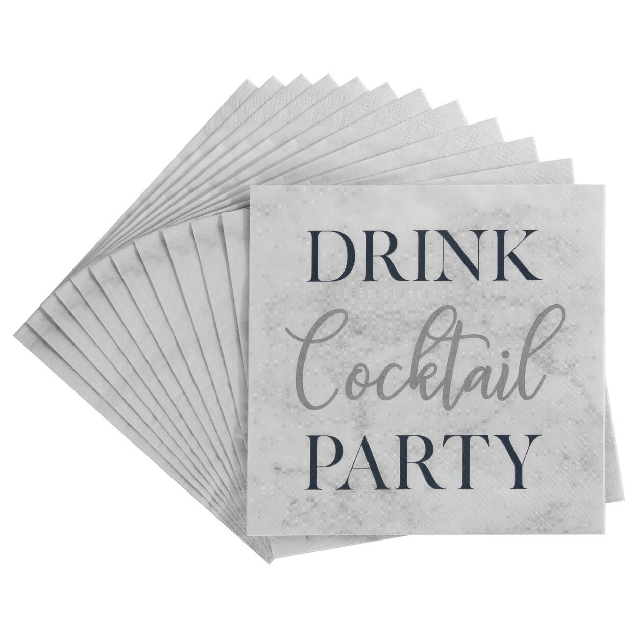 Pack of 20 Cocktail Paper Napkins