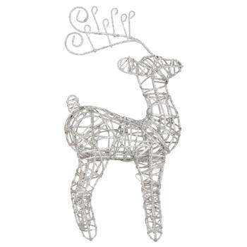 Decorative Metal Wire Reindeer