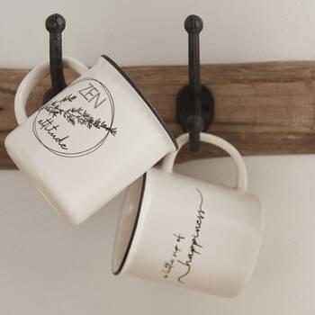 Set of 2 Ceramic Cups