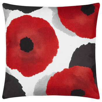 "Flower Water-Repellent Decorative Pillow 18"" X 18"""