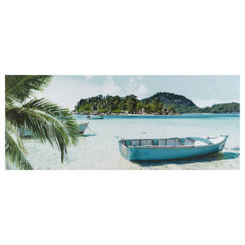 Tropical Getaway Printed Canvas