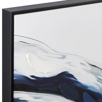 Gel-Embellished Marble Framed Art