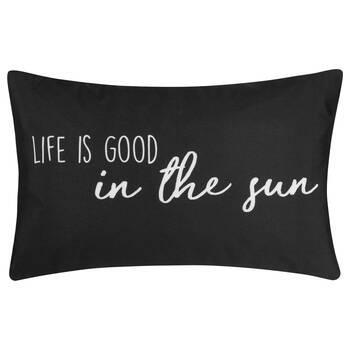 "In The Sun Water-Repellent Decorative Lumbar Pillow 13"" X 20"""