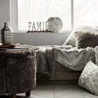 Decorative Aluminum Word Family