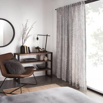 Lykke Printed Sheer Curtain