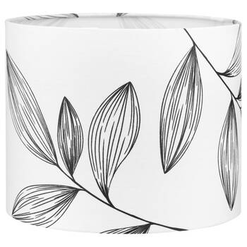 Round Floral Lamp Shade