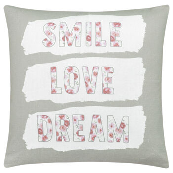 "Grace Decorative Pillow 18"" X 18"""