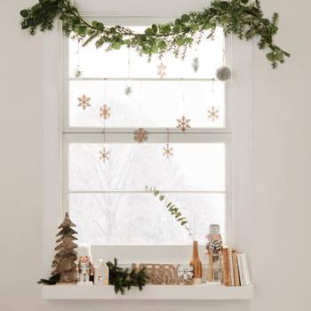 Set of 9 Snowflake Ornaments
