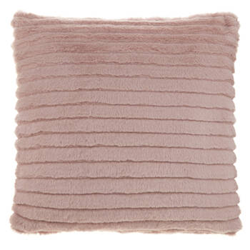 "Mezzo Faux Fur Decorative Pillow 18"" X 18"""
