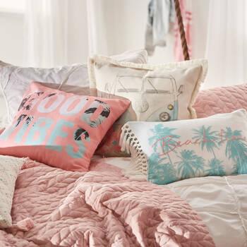 """Beach Time Decorative Lumbar Pillow 13"""" x 20"""""""