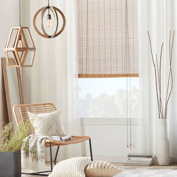 Bamboo Roll Up Blind