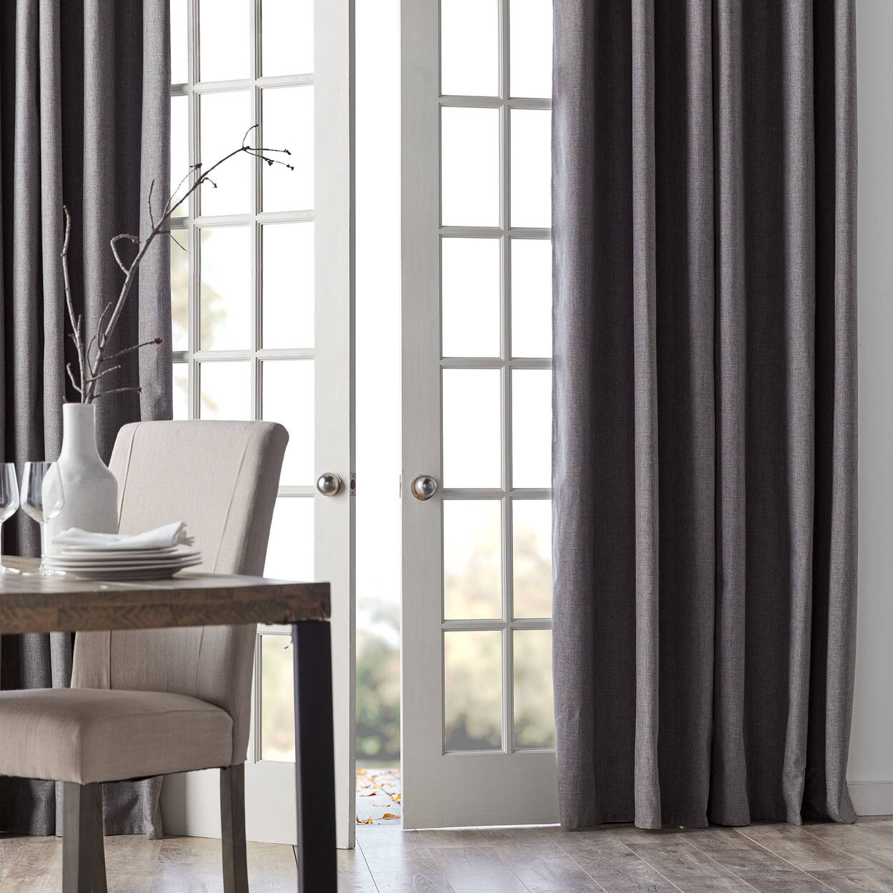 curtain canada light blackout polyester out with jysk michelle panel hidden curtains black tabs blocking blue