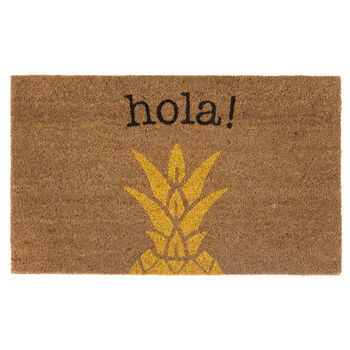 Hola Pineapple Doormat