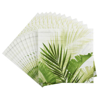Pack of 20 Palm Leaf Paper Napkins