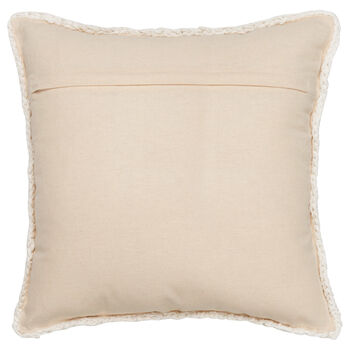 """Lamb Knitted Decorative Pillow 18"""" X 18"""""""