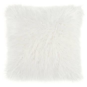 "Naadam Faux Fur Decorative Pillow 19"" X 19"""