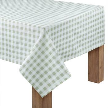 "Plaid Tablecloth 60"" X 84"""
