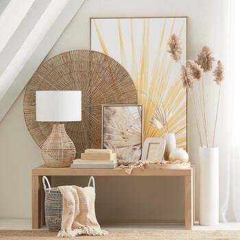 Tropical Leaf Framed Art