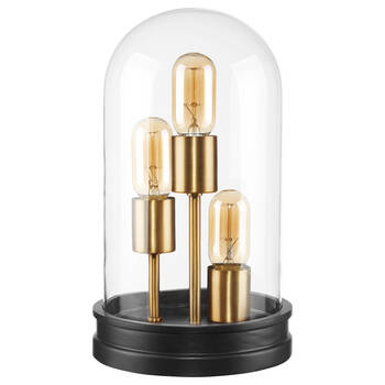 3-Bulb Dome Table Lamp