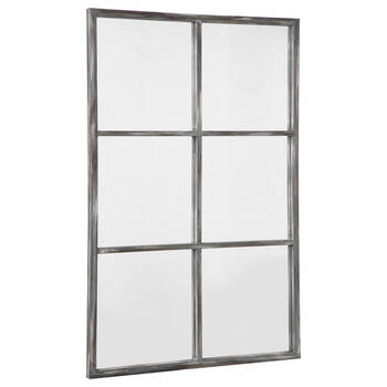 Miroir style fenêtre à carreaux