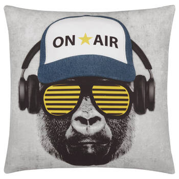"Gorilla Decorative Pillow 18"" X 18"""