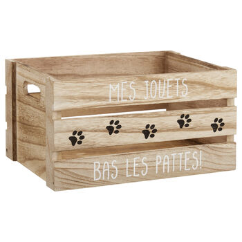Medium My Toys Wooden Crate