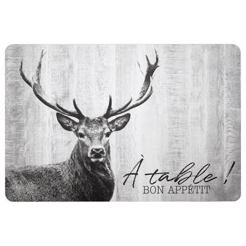 Wooden Deer Placemat