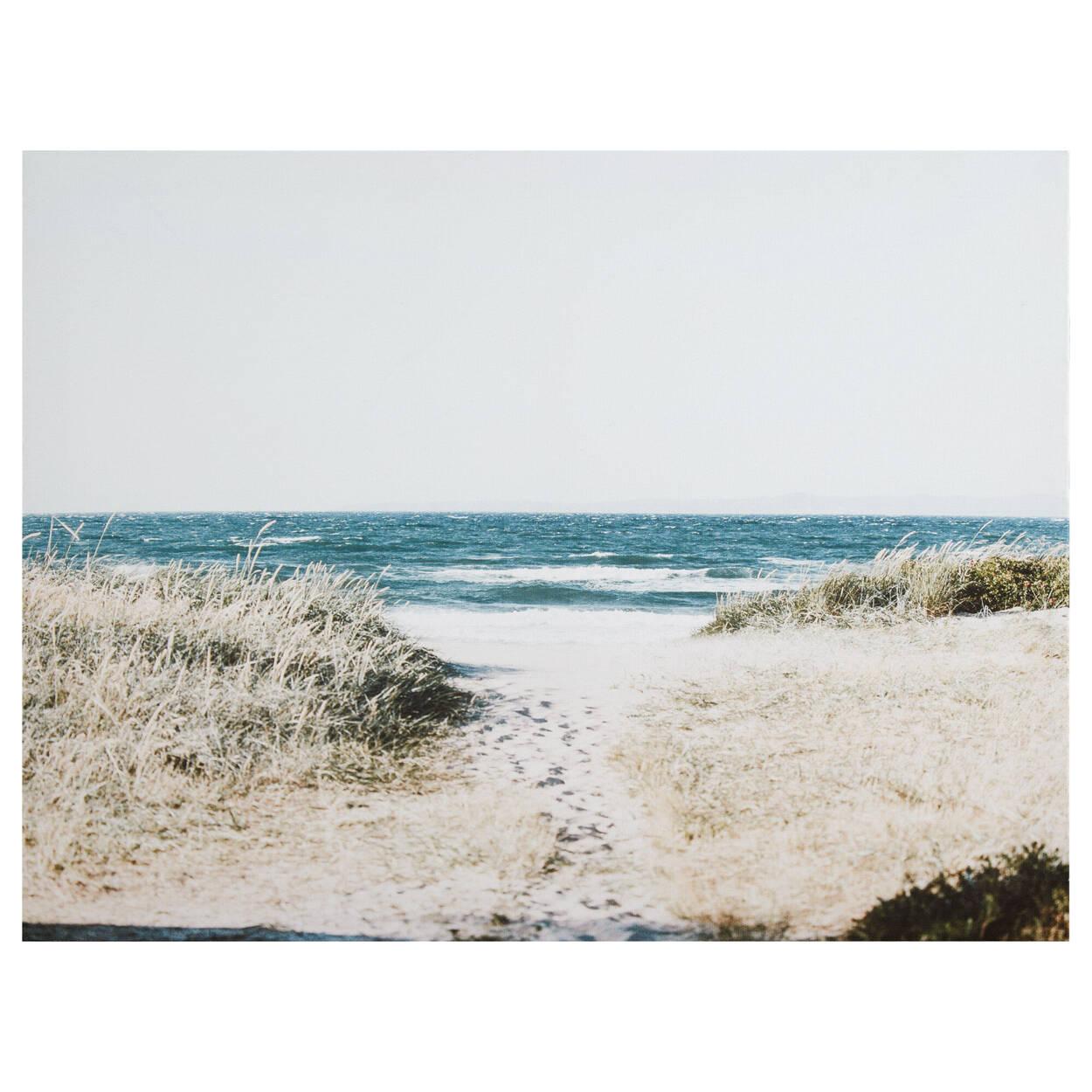 Beach Ahead Printed Canvas
