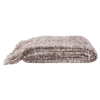 "Angora Mohair-Like Throw 66"" X 90"""