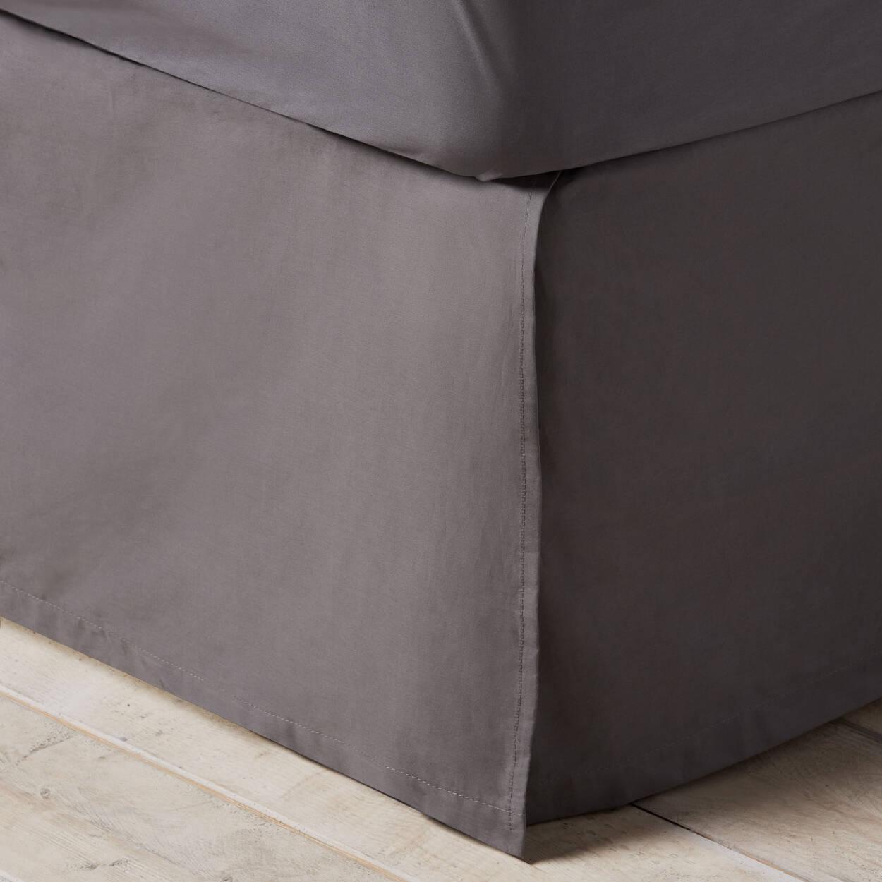 jupe de lit. Black Bedroom Furniture Sets. Home Design Ideas