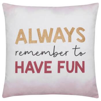 """Fun Decorative Pillow 18"""" X 18"""""""