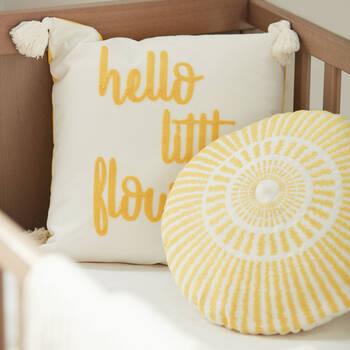 "Bouton d'Or Decorative Pillow 15"" x 15"""