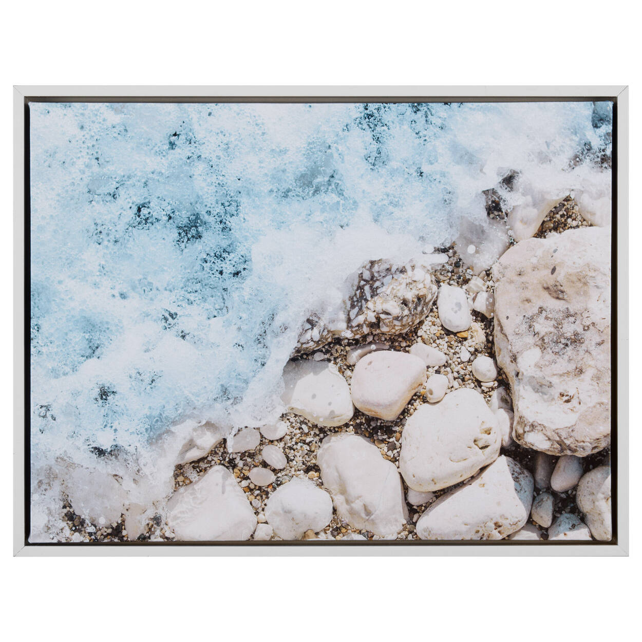 Summer Waves Printed Framed Art