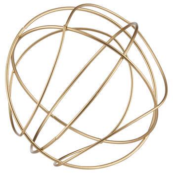 Balle décorative en fil de métal