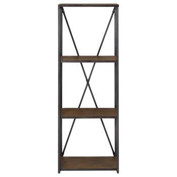 Wood and Metal Shelf