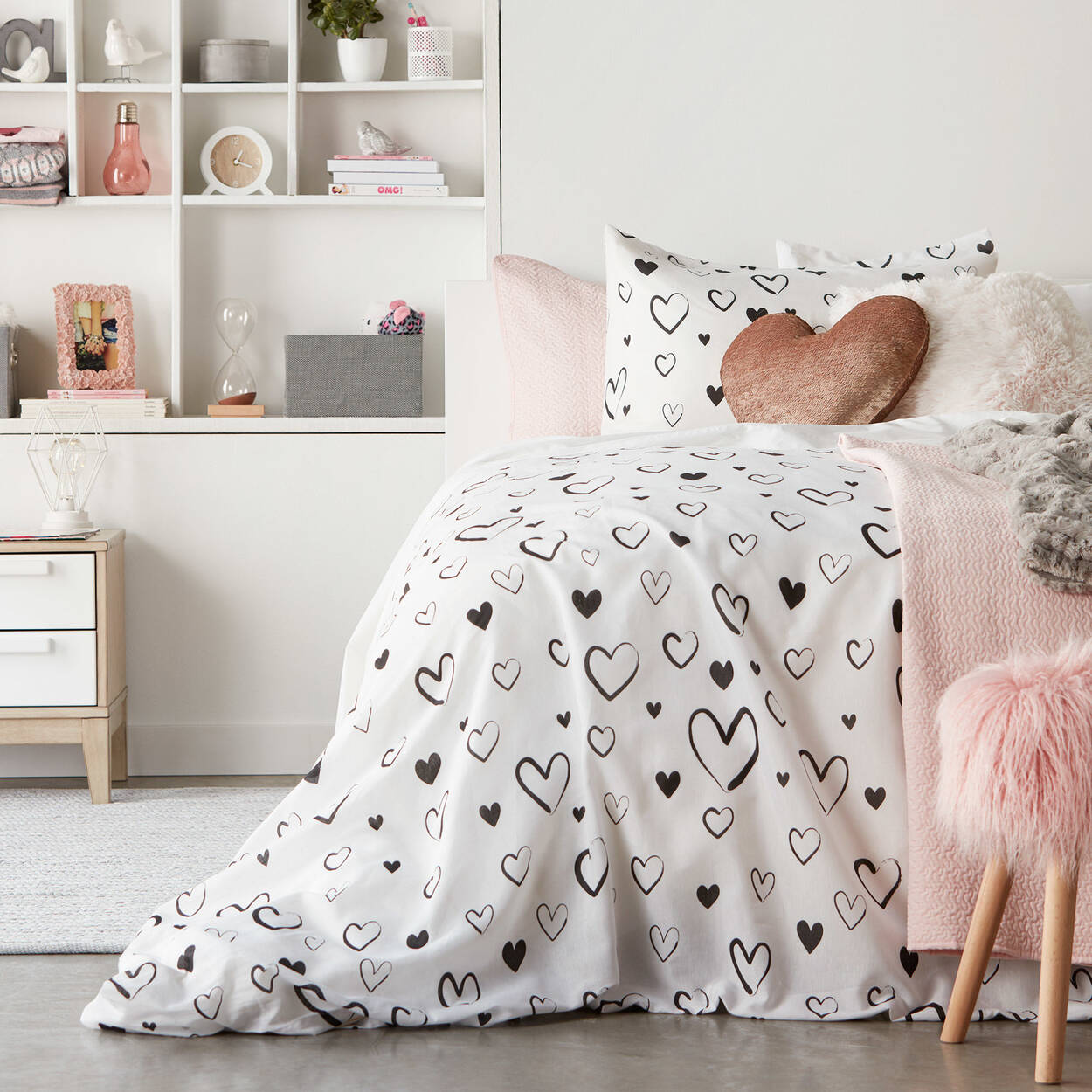 collection flavie ensemble de housse de couette. Black Bedroom Furniture Sets. Home Design Ideas