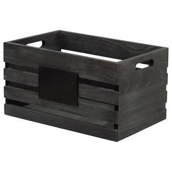 Blackboard Wooden Crate