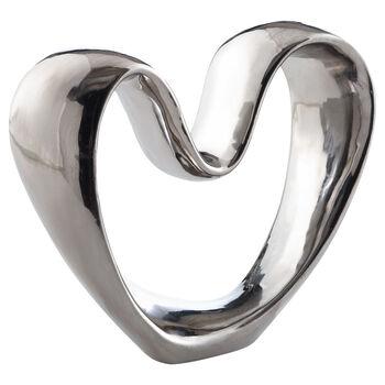 Coeur décoratif en céramique