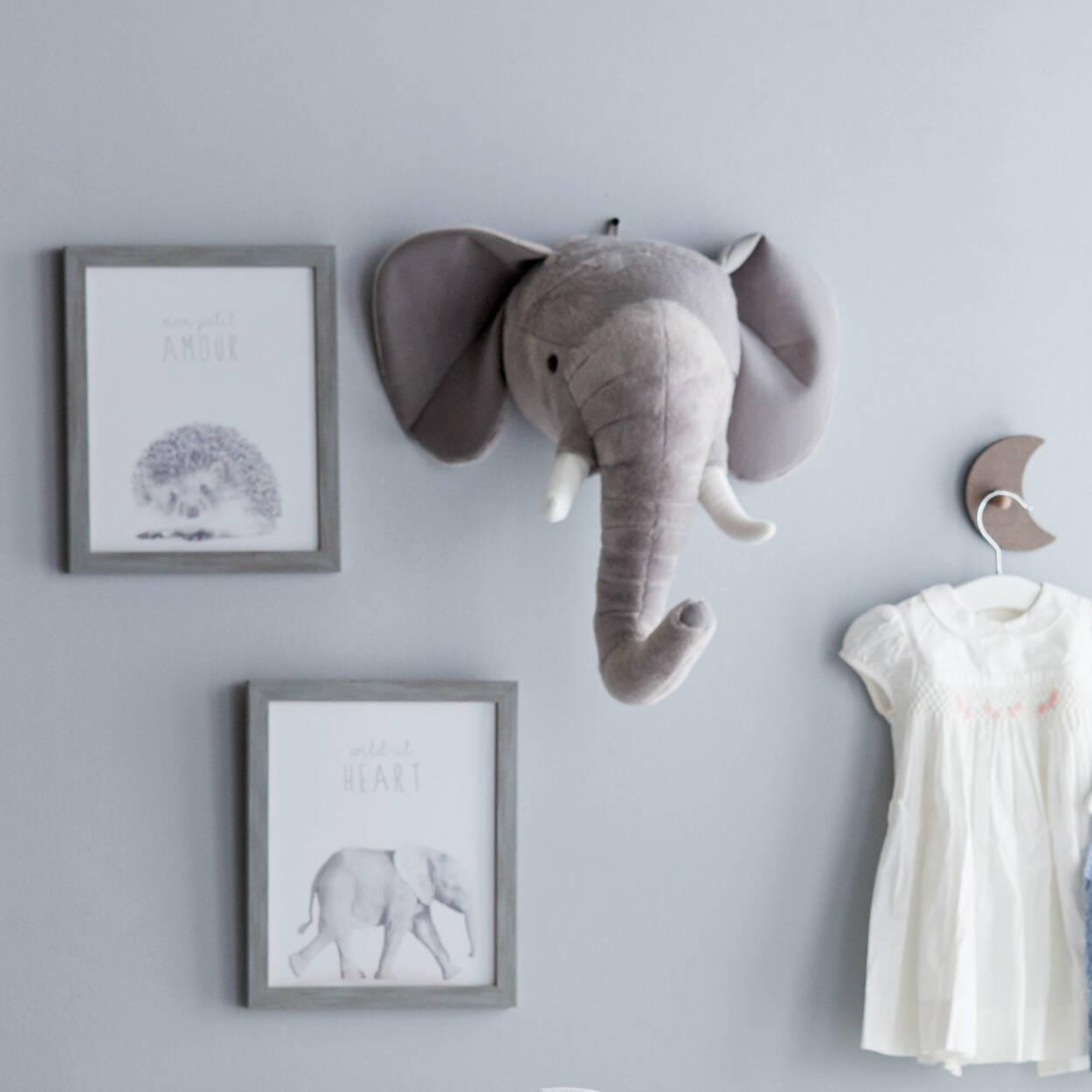 Elephant Wall Decor   Bouclair.com